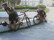 Boleslavský šlapky na cestě do Salzburgu