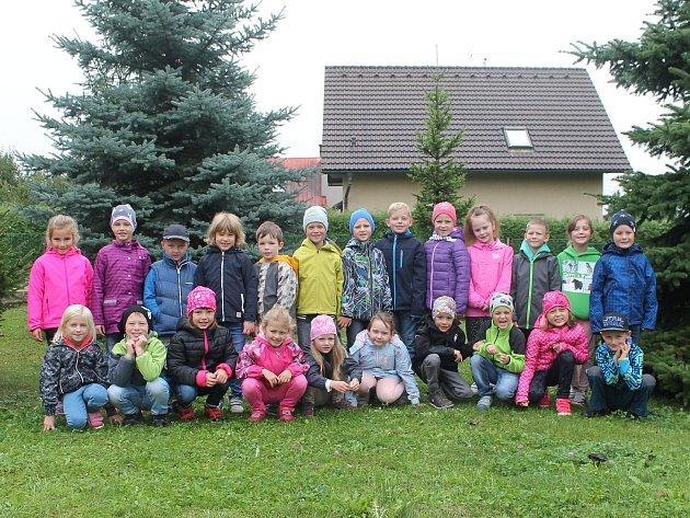 Základní škola Kosmonosy 1.A, třídní učitelka Zuzana Horáková