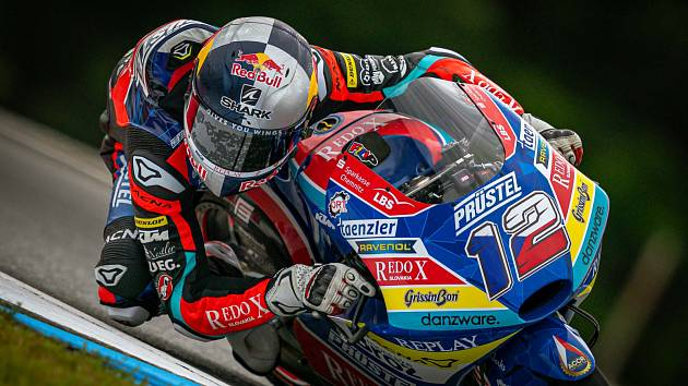 Filip Salač na GP Brno