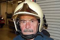 Hasič Jiří Šimůnwek pracoval u hasičů v Mladé Boleslavi 40 let.