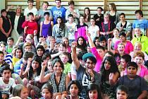 Radek Banga navštívil školáky Na Celně