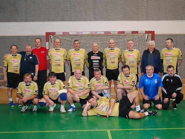 Přátelské utkání házenkářů HSG Mladá Boleslav - Česká Lípa.