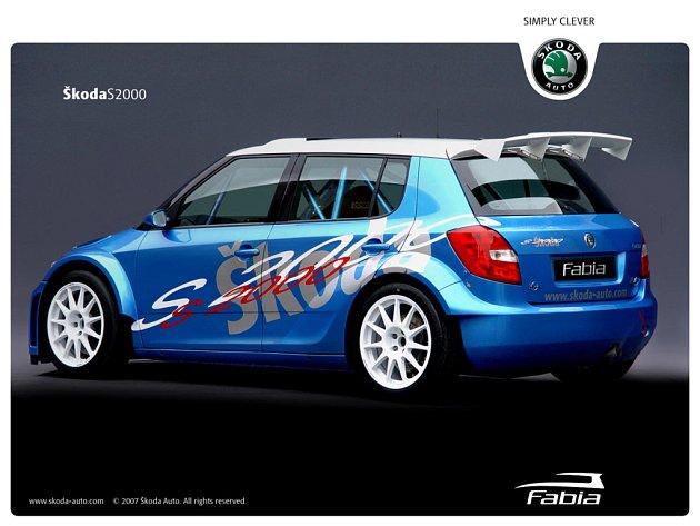 Koncept vozu Fabia S2000.