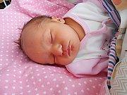 Eliška Závršanová se narodila 13. ledna, vážila 2,76 kg a měřila 48 cm. S maminkou Lucií a tatínkem Davidem bude bydlet v Mladé Boleslavi, kde už se na ni těší sestřička Adélka.