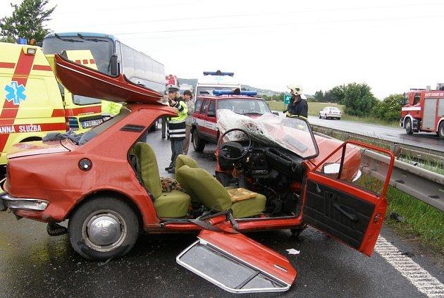 Nehoda na R10 u Mladé Boleslavi