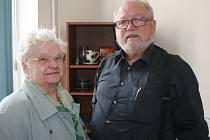 Esperantisté Jindřiška Drahotová a Bengt Nordlöf