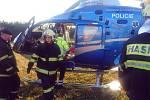 U obce Úhelnice na Mladoboleslavsku došlo v sobotu 30. listopadu k nehodě motorkáře.