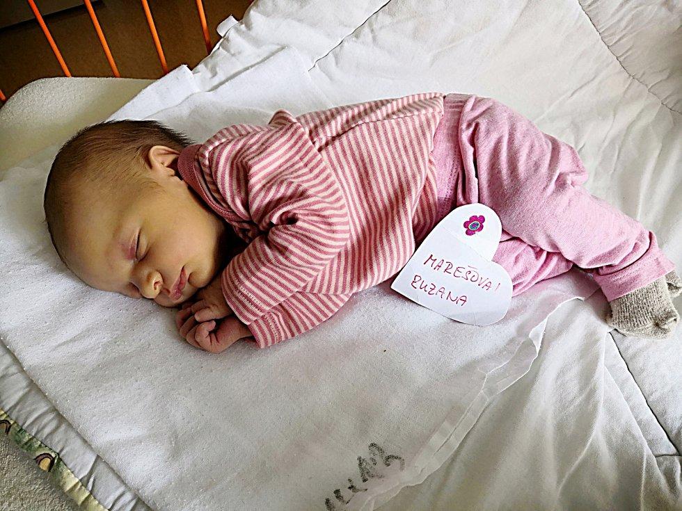Zuzana Marešová, Kochánky. Narodila se 23. května, vážila 2,99 kg a měřila 48 cm. Maminka Lucie, tatínek David a bráška Kubík.