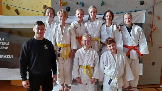 Z judo soutěže Kralupy Cup