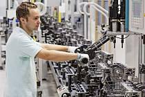 Výroba motorů v Mladé Boleslavi