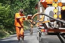 Opravy silnice
