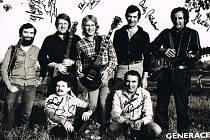 Kapela Generace v roce 1980