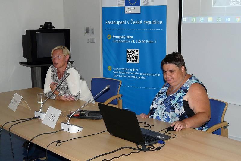 Další rehabilitační pobyt pro osoby se zdravotním postižením se konal za organizátorství Kateřiny Maxové v Třeboni.