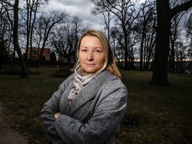 Psychiatrička zKosmonos uMladé Boleslavi Martina Stegerová.