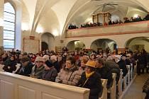 Česká mše vánoční od Jakuba Jana Ryby v kostele sv. Havla v Mladé Boleslavi.