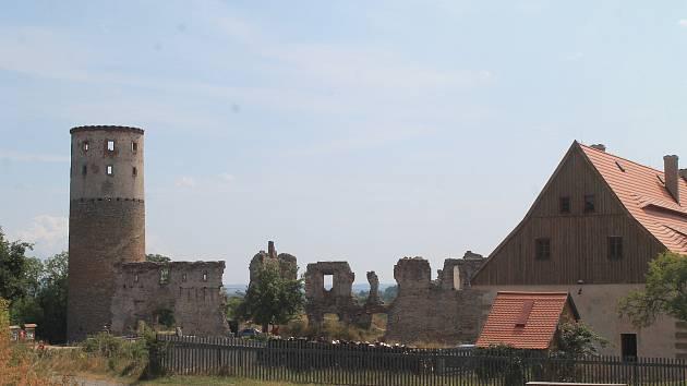 Zřícenina hradu Zvířetice