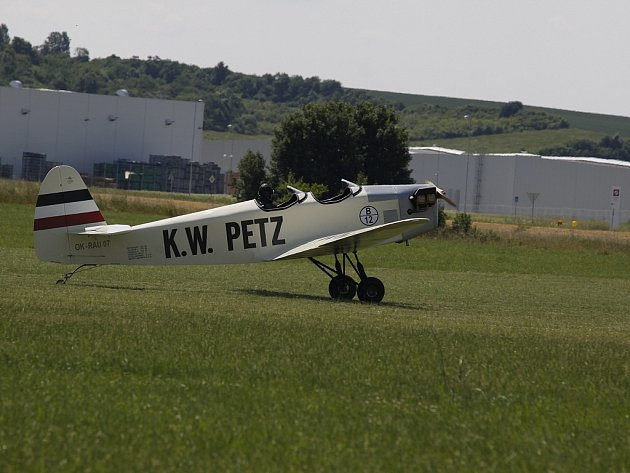 Křest letadla Mladá Boleslav 2013