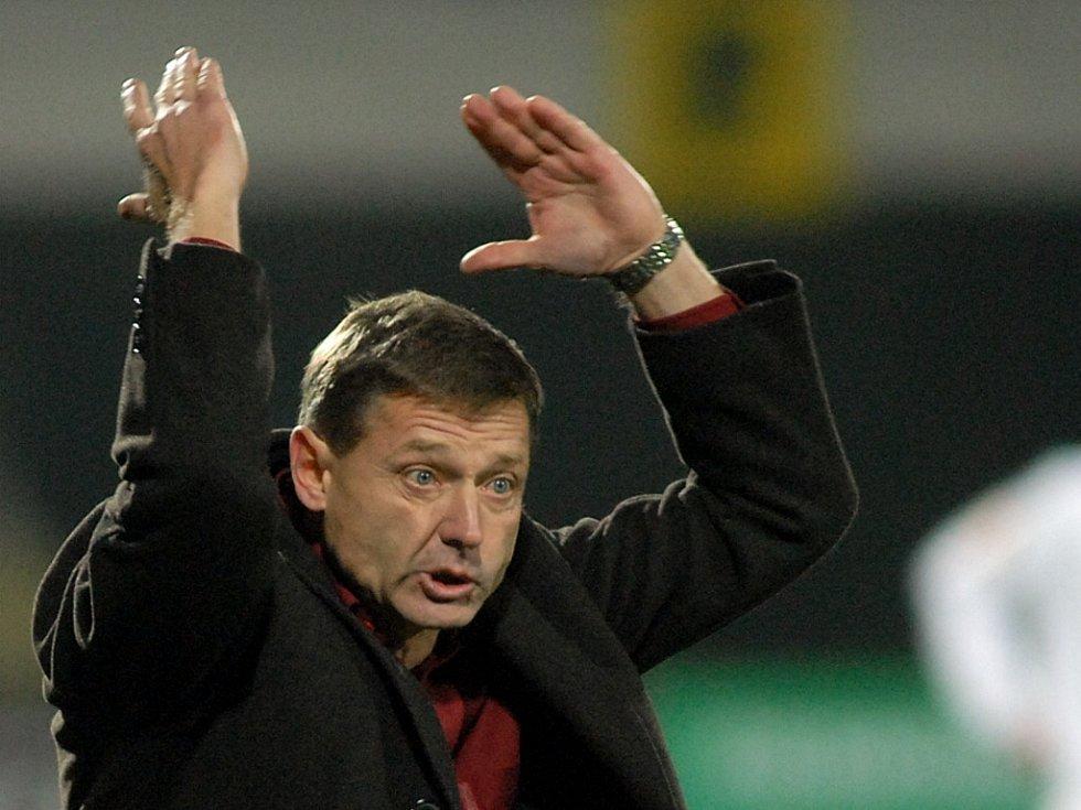 Novy trenér boleslavských fotbalistů Zdeněk Ščasný.