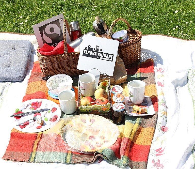 Férová snídaně v Havelském parku v Mladé Boleslavi