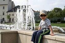 Bělský park je rájem i pro děti