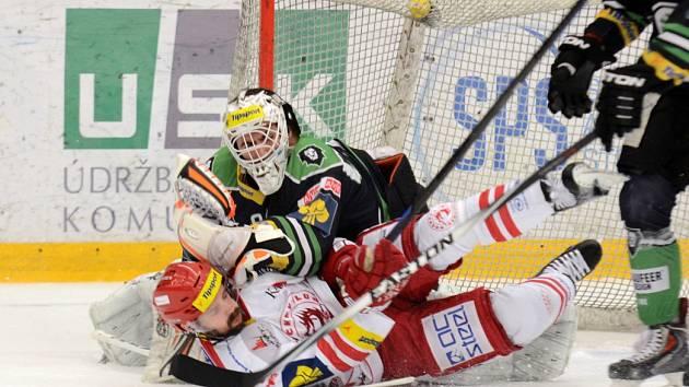 Tipsport extraliga, 4. zápas čtvrtfinále: BK Mladá Boleslav - HC Oceláři Třinec