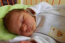 VALÉRIE Lacinová se narodila 17. října mamince Vladimíře a tatínkovi Radkovi z Chudíře. Vážila 3,55 kg a měřila 49 cm.