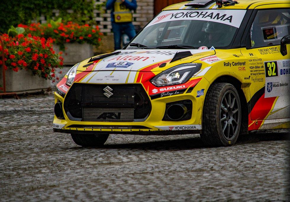 Z Rally Bohemia 2020 - erzeta Staroměstská.
