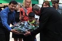 Vyhlášení výsledků výtvarné soutěže dětí z dětských domovů