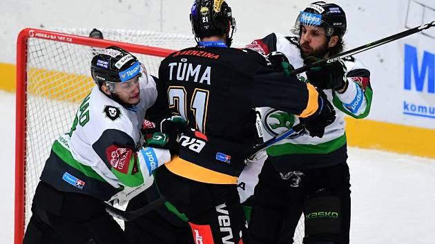 Hokej, Tipsport extraliga, BK Mladá Boleslav - HC Verva Litvínov.