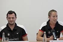 Lukáš Zevl a Nicola Cerfontyne