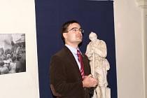 JIří Filip, pracovním muzea v Bělé pod Bezdězem