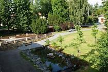 Revitalizovaná náves v Bosni láká k návštěvě.