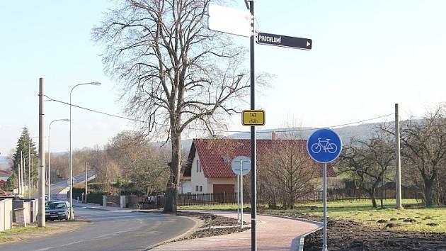 Cyklostezka do Jemníků už je hotová.