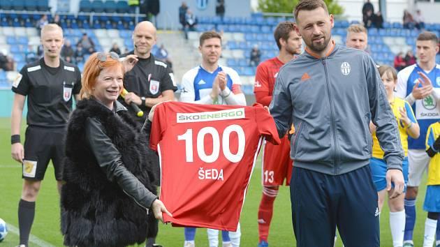 Jan Šeda odehrál sto ligových zápasů