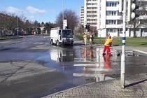 V Boleslavi probíhá jarní očista a také dezinfekce prostor