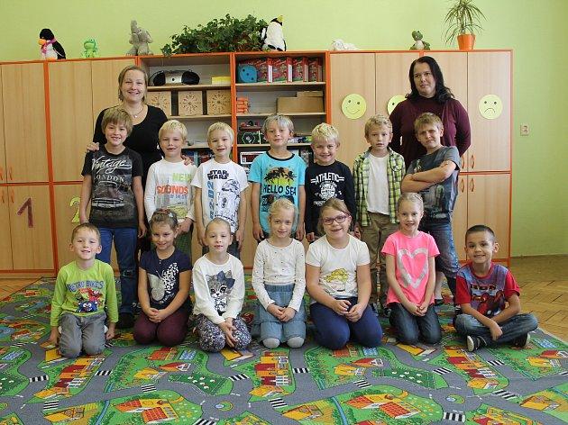 ZŠ Sojovice  - jedna první třída