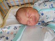 Jakub Bičej se narodil 12. března, vážil 3,86 kg a měřil 51cm. S maminkou Janou a tatínkem Viktorem bude bydlet v Mladé Boleslavi.