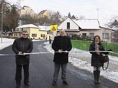 Opravená Soumarova ulice otevřena