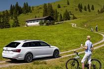 Škoda Superb Combi třetí generace.