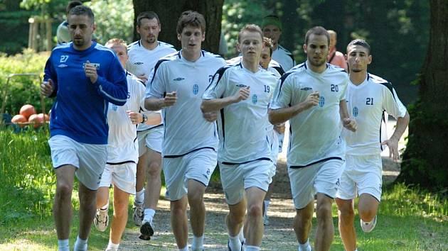 Kondiční soustředění FK Mladá Boleslav v Lázních Bělohrad