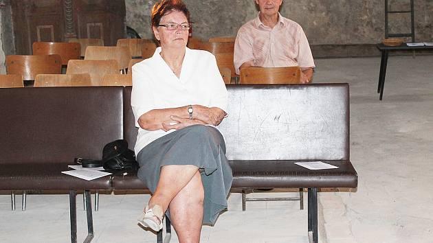 První návštěvníci, kteří zavítali na slavnostní pouť do kostela v Solci