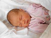 Rozárka Jírová přišla na svět 19. srpna s mírami 3,19 kg a 50 cm. S maminkou Pavlou a tatínkem Davidem bude bydlet v Brodcích.