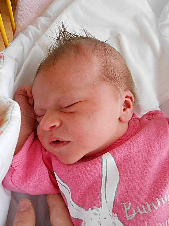 Amálie Miháliková se narodila 4. prosince 2018, vážila 3,55 a měřila 50 cm. S maminkou Hanou a tatínkem Tomášem bude bydlet v Mladé Boleslavi.