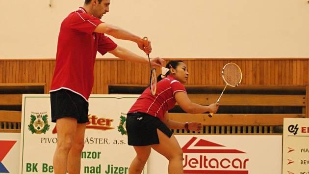 I. liga badmintonu: BK Deltacar Benátky nad Jizerou - Meteor Praha B