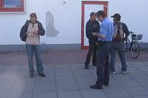 Strážníci zadrželi hledanou osobu
