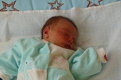 VAŠÍK Olejník se narodil 21. listopadu v pražské porodnici v Krči. Vážil 3,65 kilogramů a měřil 52 centimetrů. S maminkou Ivetou a tatínkem Milanem bude bydlet v Benátkách nad Jizerou.
