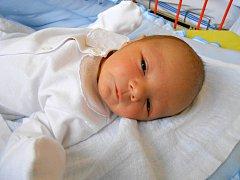 MILOŠ Tyl přišel na svět 22. ledna s mírami 3,46 kg a 50 cm. S maminkou Alenou a tatínkem Milošem bude bydlet v Benátkách nad Jizerou.