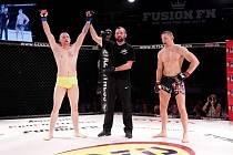 Martin Pršala na MMA Fusion Fight 14.