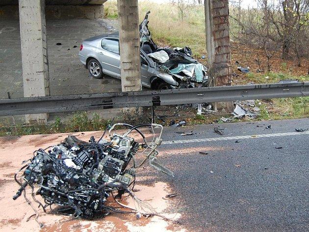 Tragická nehoda na R10 u Brodců nad Jizerou
