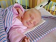 Adéla Žitníková se narodila 20. února, vážila 2,58 kg a měřila 47 cm. S maminkou Ivonou a tatínkem Ondřejem bude bydlet v Mladé Boleslavi.